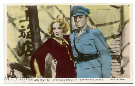 Marlene Dietrich Colourgraph nr C 143