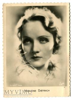 Marlene Dietrich Erpé Francja pocztówka nr 11