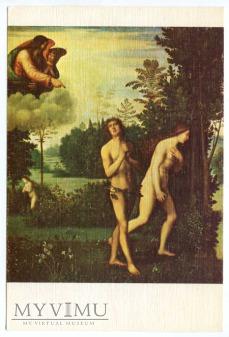 Mariotto Albertinelli - Wygnanie z raju