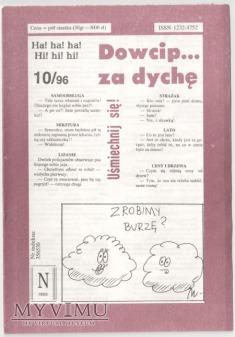 Dowcip...za dychę 10/96