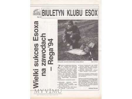 Biuletyn Klubu Esox 1'1993-2'1994