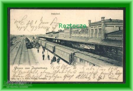 WYSTRUĆ Insterburg Dworzec kolejowy
