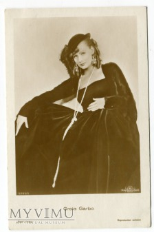 Greta Garbo Verlag Ross 5283/3 Vintage Postcard