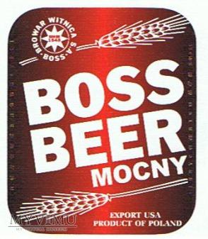 boss beer mocny