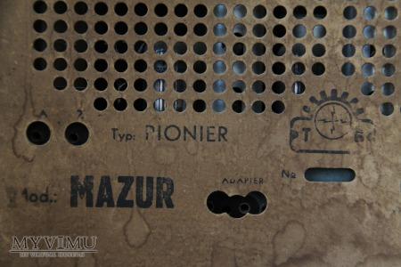 Odbiornik radiowy Mazur, typ Pionier