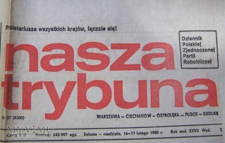 Nasza Trybuna - VIII Zjazd PZPR.