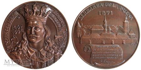 Klasztor Putna medal 1989
