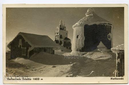 Karkonosze Śnieżka Schneekoppe 1952