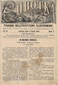 SOBOTKA TYGODNIK 1869