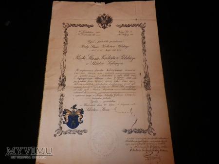 Duże zdjęcie Dokumenty wydane Rada Stanu Królestwa Polskiego