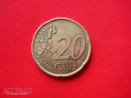 20 euro centów - Portugalia