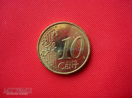 10 euro centów - Niemcy