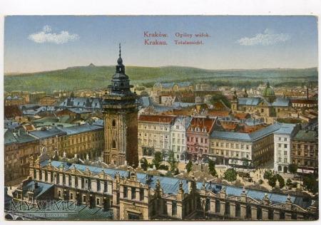Kraków - Rynek - Sukiennice - 1915