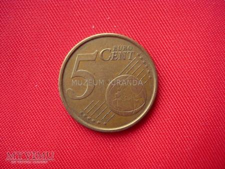 5 euro centów - Hiszpania