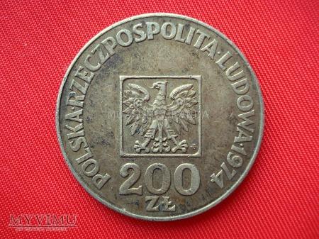 Duże zdjęcie 200 złotych 1974 rok