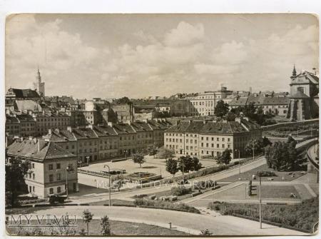 Warszawa - Trasa W-Z (Mariensztat) - 1960/70