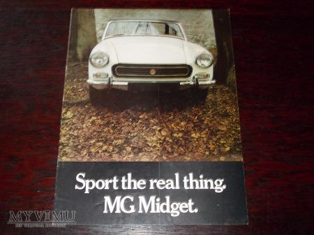 Prospekt MG MIDGET