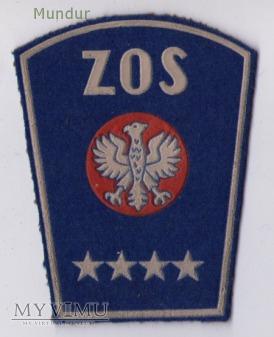Dystynkcje ZOS komenda oddziału