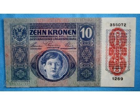 10 Koron 1915