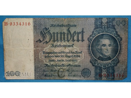 100 Reichsmark 1935
