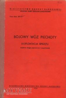 Bojowy Wóz Piechoty. Instrukcja z 1978 r.