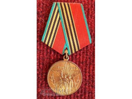 """Medal """"40 Lat Zwycięstwa w Wojnie Ojczyźnianej"""""""