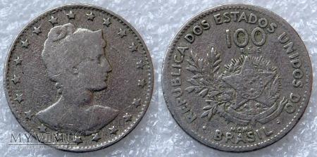Brazylia, 100 Réis 1901