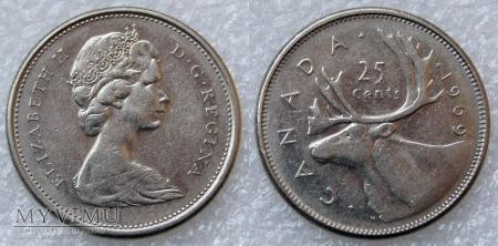 Kanada, 25 CENTS 1969