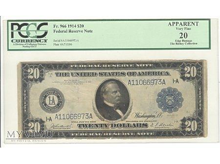 20 USD 1914 Grading