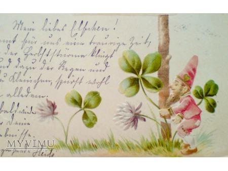 1901 Krasnal Czterolistna koniczyna Wyszkowo