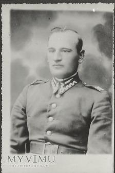 Plutonowy Franciszek Gwozdzik z 25 Pułku Ułanow W.