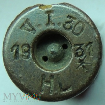 Łuska 8x58 R Krag V.I.30 31 HL 19
