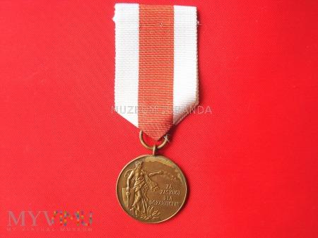 Medal Za Zasługi dla Pożarnictwa - brązowy