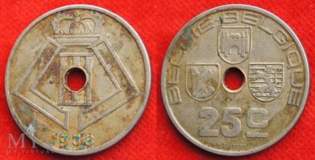 Belgia, 1938, 25 Centimes
