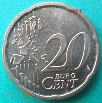 20 Euro Cent 2003 Irlandia