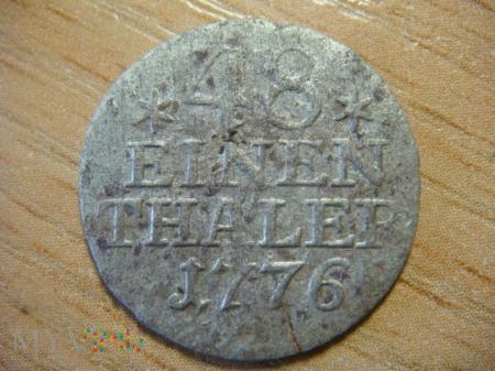 48 einen thaler, 1776, A