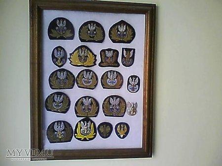 Emblematy i orły Marynarki Wojennej