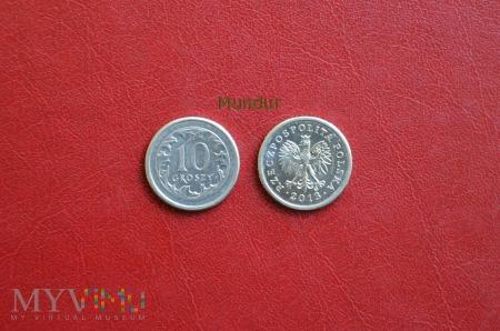 Moneta: 10 groszy od 1995r.
