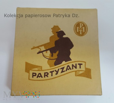 Papierosy PARTYZANT 20 szt. PMT 1945 r.