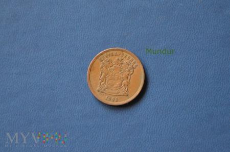 Moneta południowoafrykańska: 5 centów