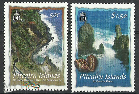 Pitcairn Scenery.