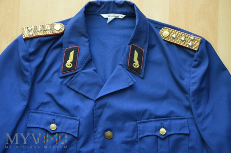 Niemiecki letni mundur kolejarza