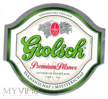 Duże zdjęcie Grolsch Premium Pilsner