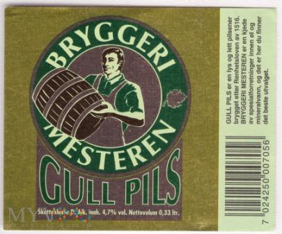 Duże zdjęcie Bryggeri Mesteren Gull Pils