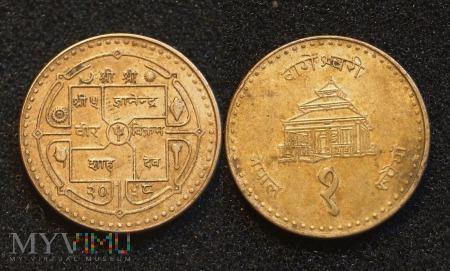 Nepal, 1 rupia
