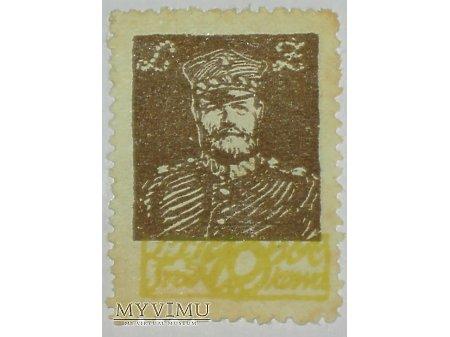 Generał Lucjan Żeligowski znaczek Litwa Środkowa