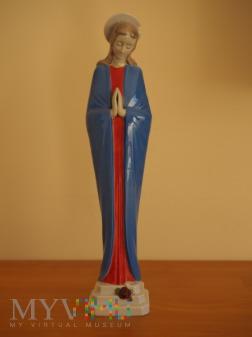 Porcelanowa figurka Matki Boskiej