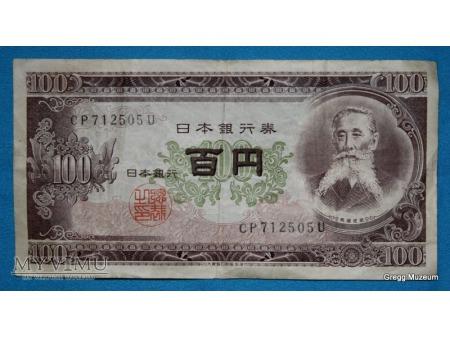 100 Yen-ów Nippon Ginko