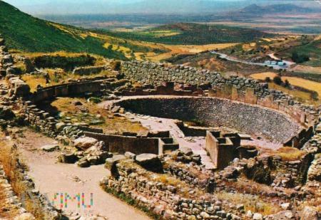 Duże zdjęcie Mycenae - Royal Graves