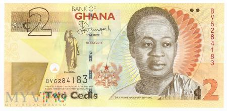 Ghana - 2 cedi (2015)